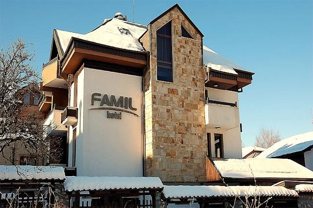 ZIMA 2017 BANSKO HOTEL FAMIL 3* 7 polupansiona od 99